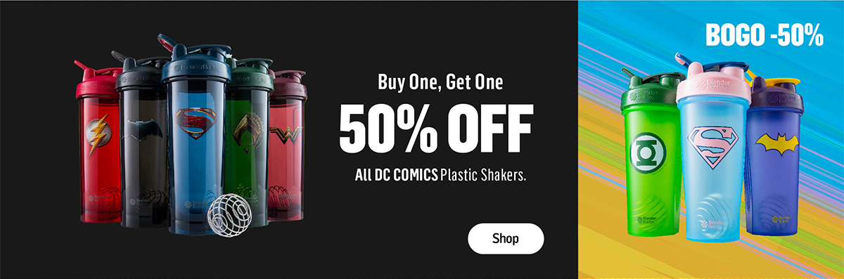 DC Classic and ProSeries Shakers Buy One, Get One 50% Off