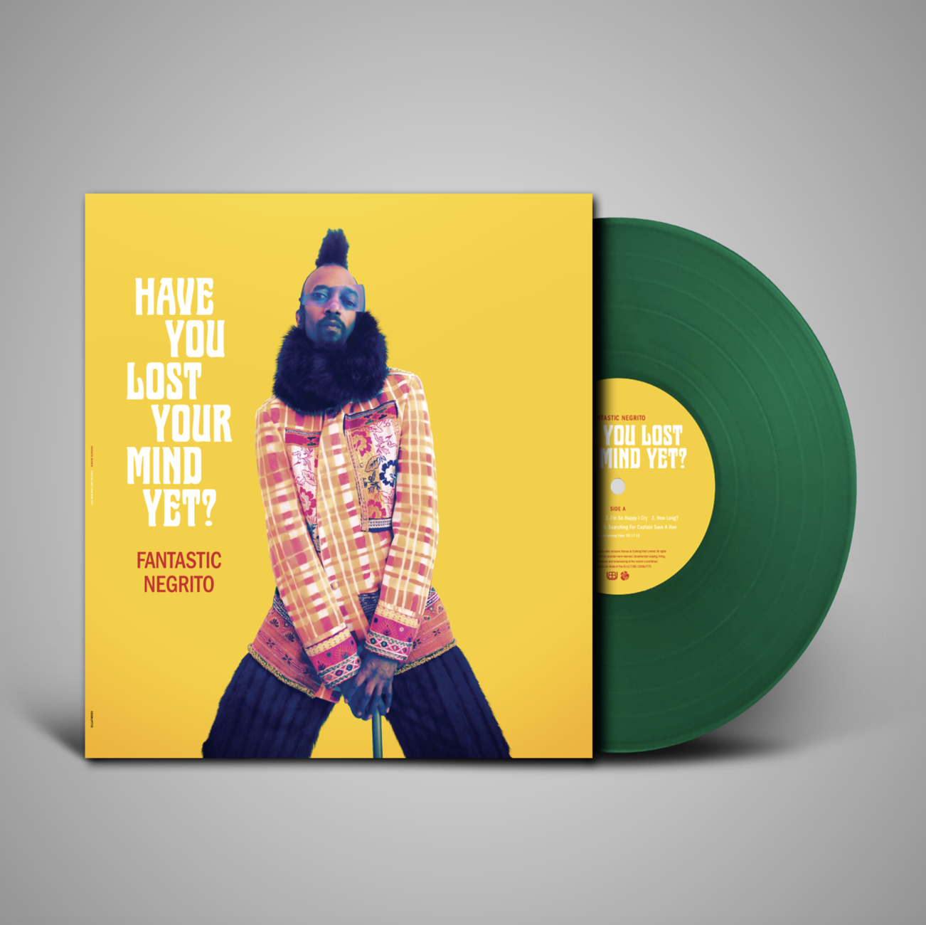 Limited edition green vinyl in our merch store!