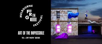Melbourne Fringe Festival 2020 banner.