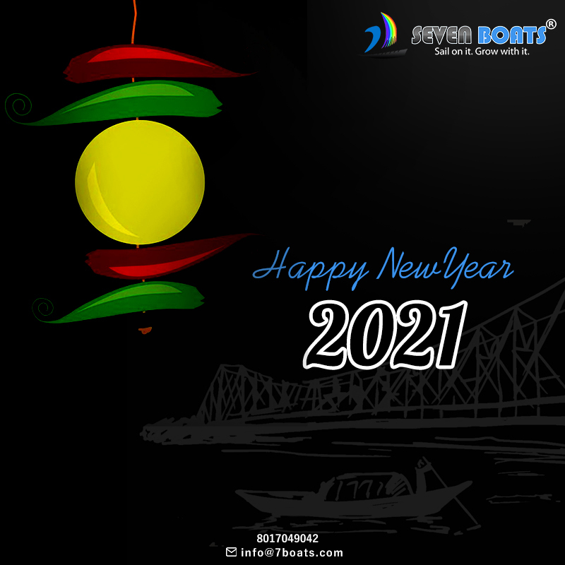 Team Seven Boats wishes you a very happy new year 2021