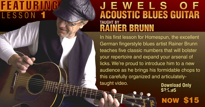 Featuring Rainer Brunn Lesson 1 at $15