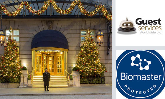 Luxury hotels and Biomaster