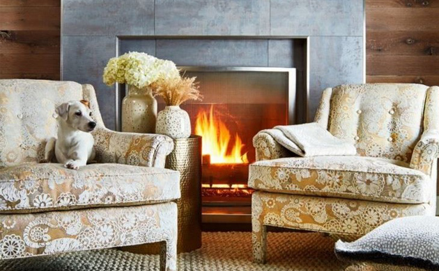 WARM UP YOUR HOME WITH WINTER FABRICS