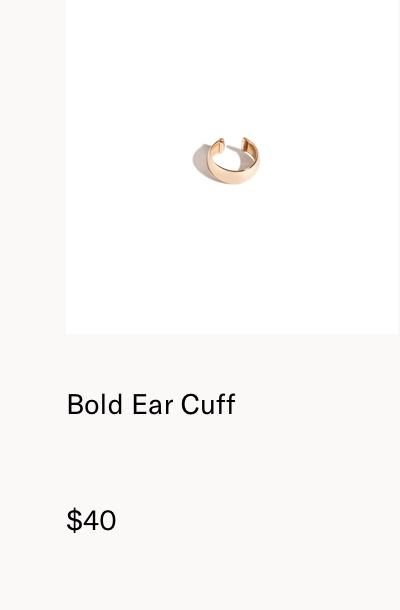 Bold Ear Cuff