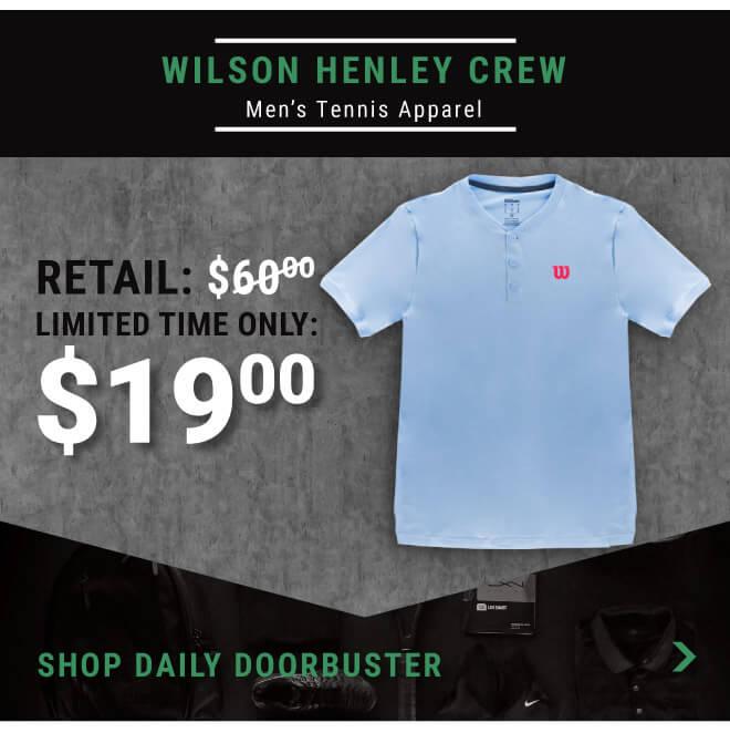 Wilson Henley Crew