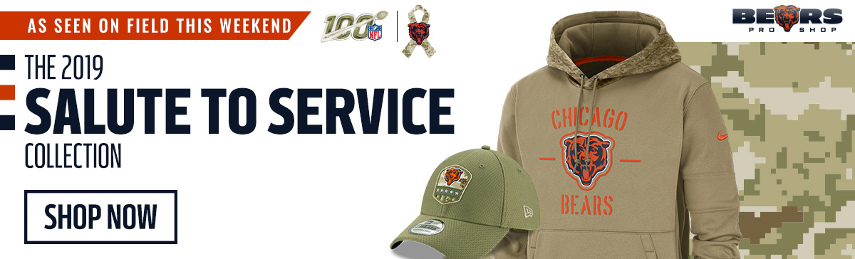 Chicago Bears Pro Shop - Salute to Service Gear
