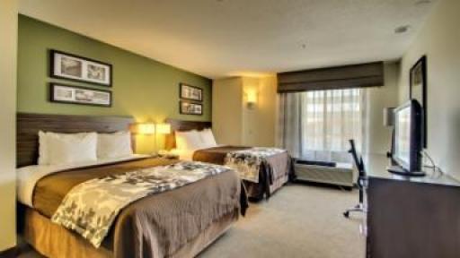Sleep Inn & Suites Edgewood 2 beds