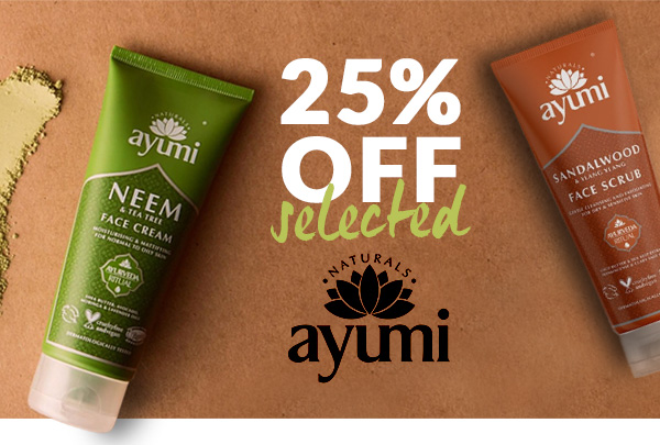 25% off selected Ayumi