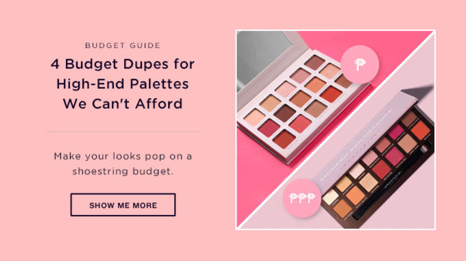 BUDGET GUIDE | 4 Budget Dupes for High-End Palettes We Can't Afford | SHOW ME MORE