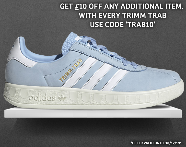 Adidas Trimm Trab Sky Blue