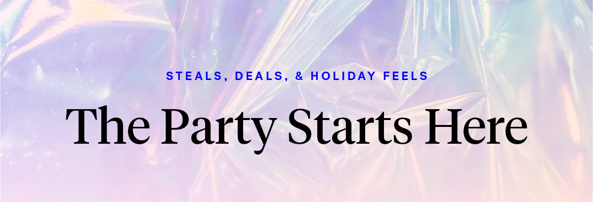 Steals, Deals, and Holiday Feels