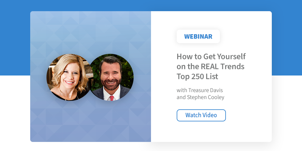 How To Get Yourself on the REAL Trends Top 250 List