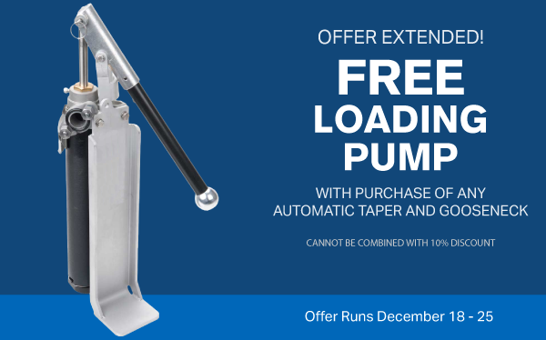 free loading pump with any taper and gooseneck