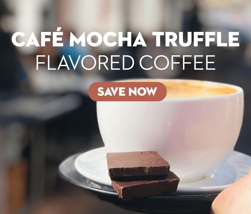 Cafe Mocha Truffle coffee