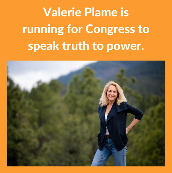 Valerie Plame is running for Congress to speak truth to power