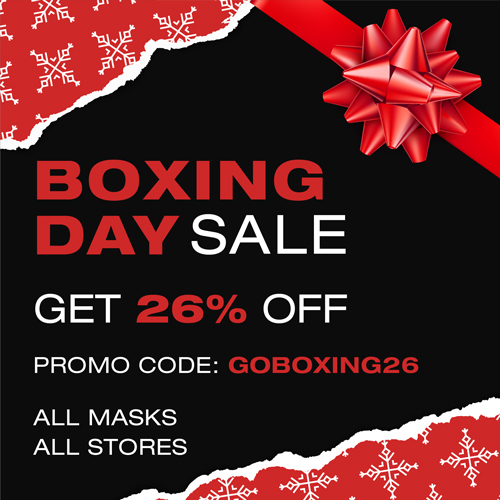 Boxing Day Sale 26% OFF All Masks All Store