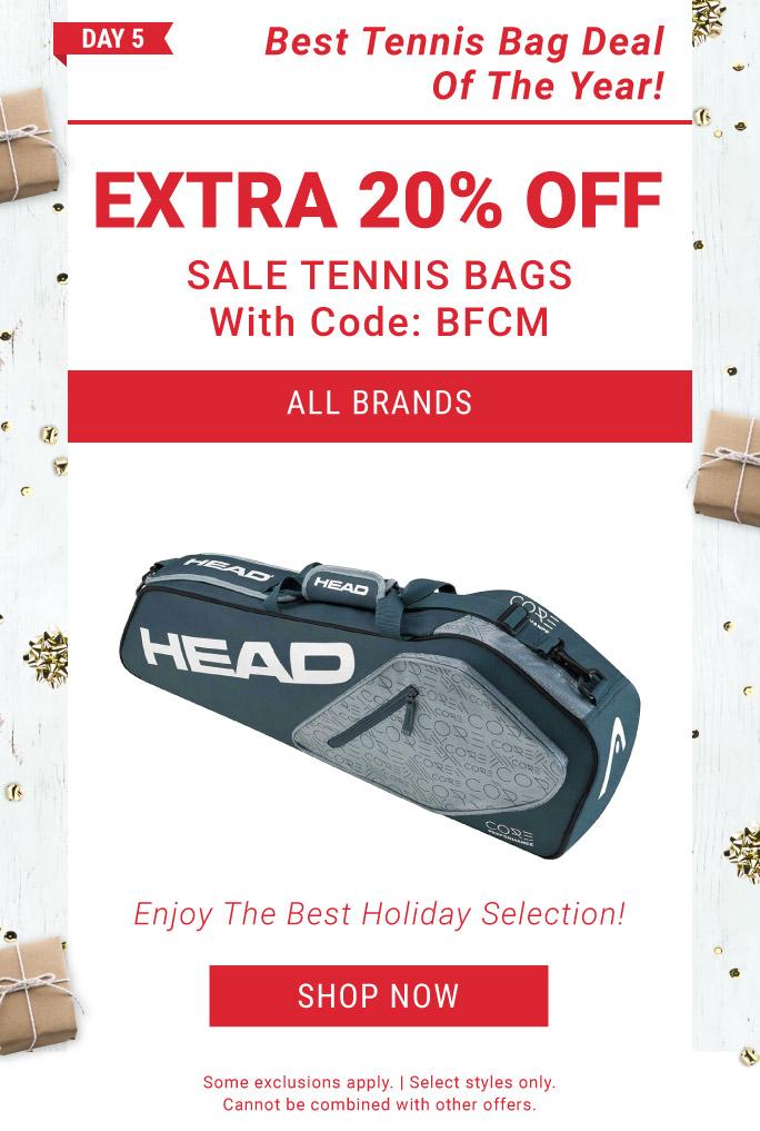 12 Days of Deals Day 5 Tennis Bag Deals
