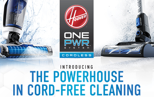 Learn more about Hoover ONEPWR - THE POWERHOUSE In Cord-Free Cleaning