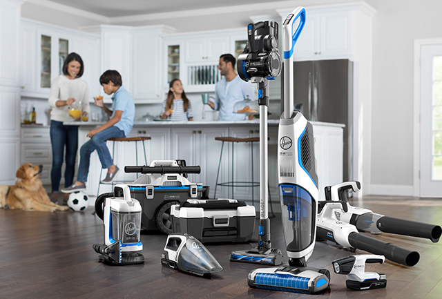 Find out more about the Hoover ONEPWR Cord-Free battery system