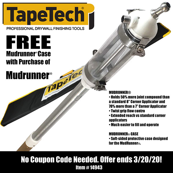 Free TapeTech Mudrunner case with purchase of Mudrunner