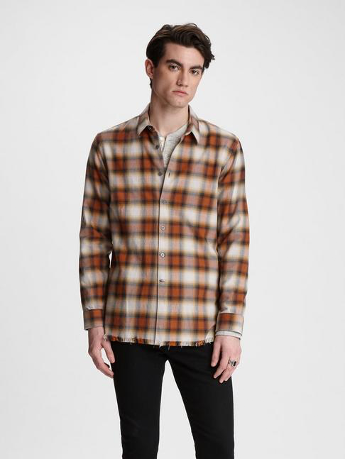 Randy Plaid Long Shirt