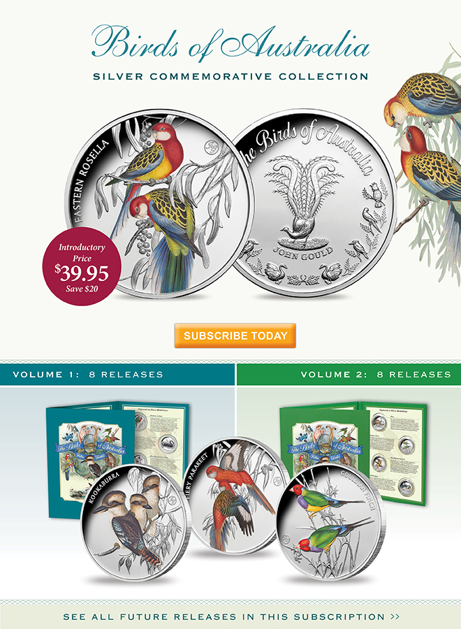 Birds of Australia Silver Commemorative Collection