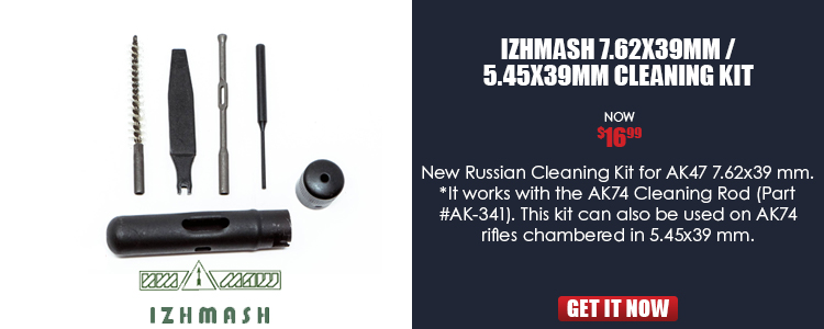 IZHMASH 7.62x39mm / 5.45x39mm Cleaning Kit