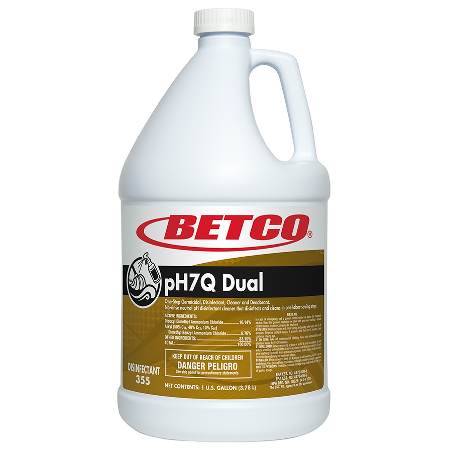 Betco pH7Q Dual One?Step Germicidal, Disinfectant, Cleaner