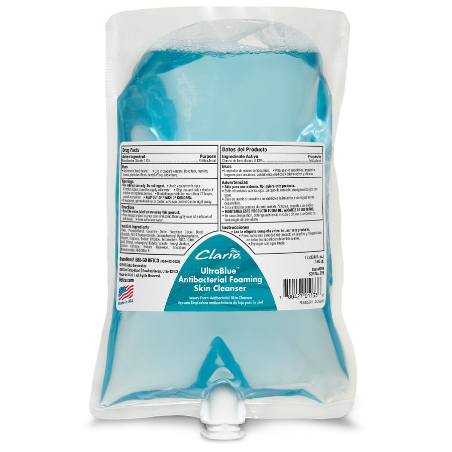 Betco Clario™ Advanced Alcohol Hand Sanitizer