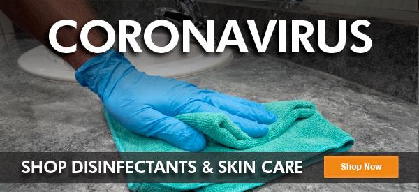 Coronavirus Shop Disinfectants & Skin Care