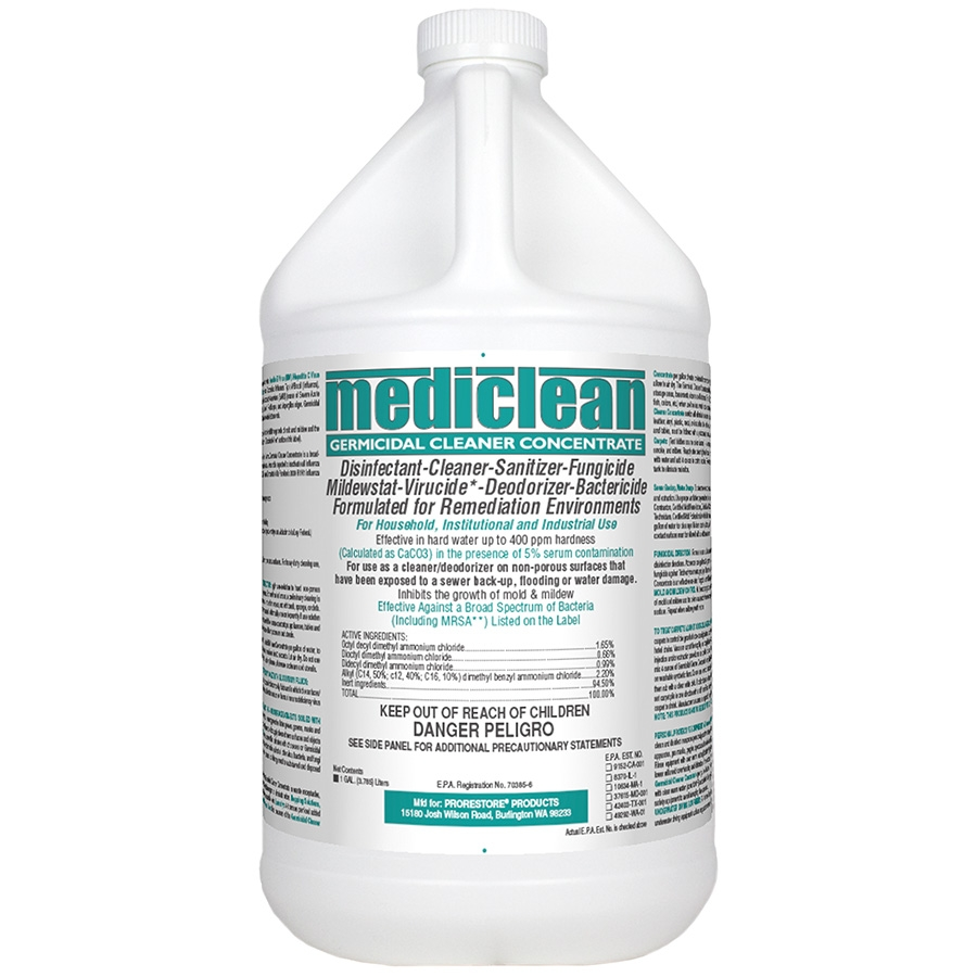 MediClean® Germicidal Cleaner Concentrate