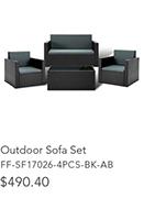 Wicker Furniture Set