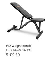 FID Weight Bench