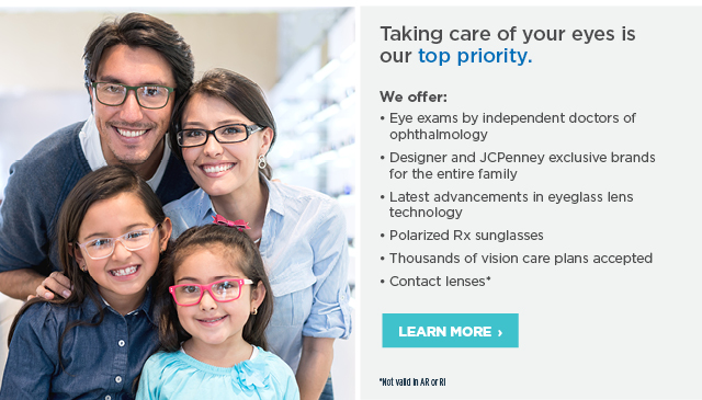 Taking care of your eyes is our top priority. Find a store
