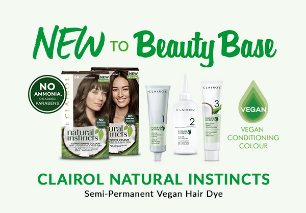 New to Beauty Base - Clairol Natural Instincts Semi-Permanent Vegan Hair Dye