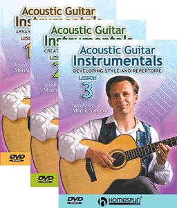Martin Simpson Acoustic Guitar 3 DVD set
