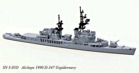 SN 3-05D Alcitepe D-347 1990
