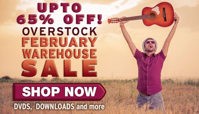 February Warehouse Sale - upto 65% off