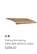 3m x 2.5m Folding Arm Awning