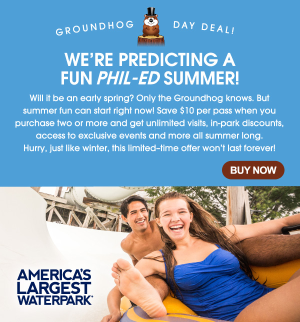 Groundhog Day Deal!