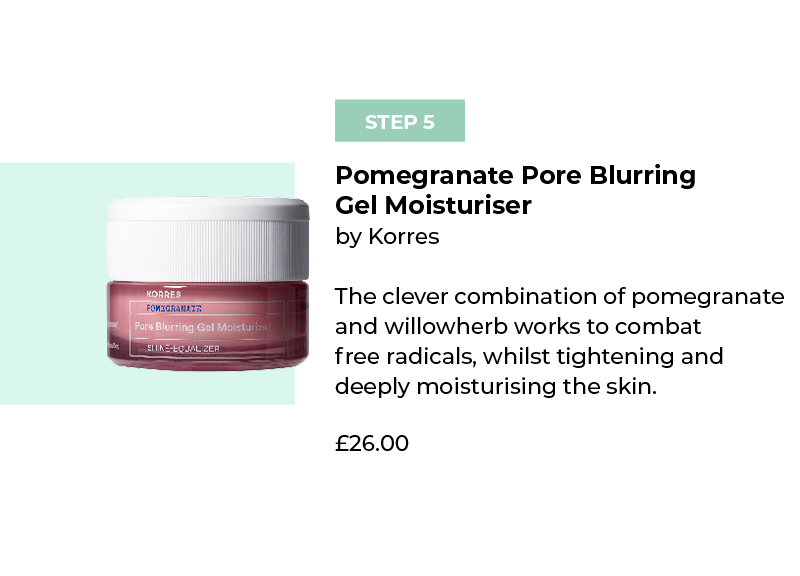Korres Pomegranate Pore Blurring Gel Moisturiser