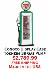 Conoco Display Case Tokheim 39 Gas Pump