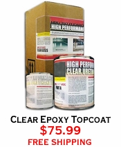 Clear Epoxy Topcoat