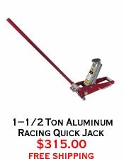 1-1/2 Ton Aluminum Racing Quick Jack