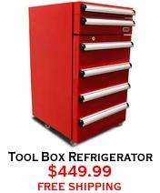 Tool Box Refrigerator