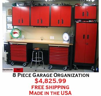 8 Piece Garage Organization