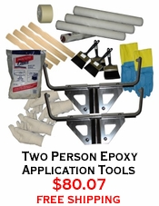 Two Person Epoxy Application Tools