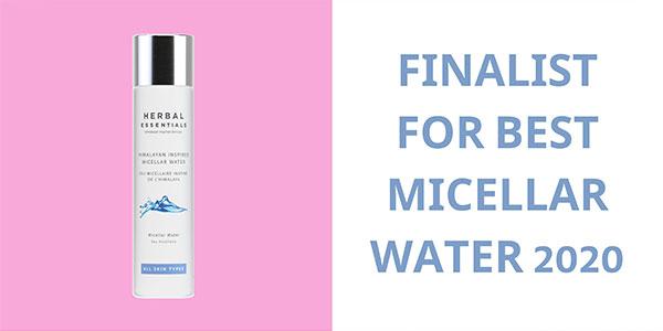 Finalist for best micellar water