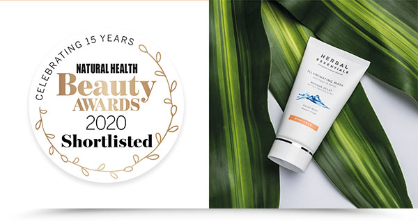 Natural Health Beauty Awards 2020 Shortlisted