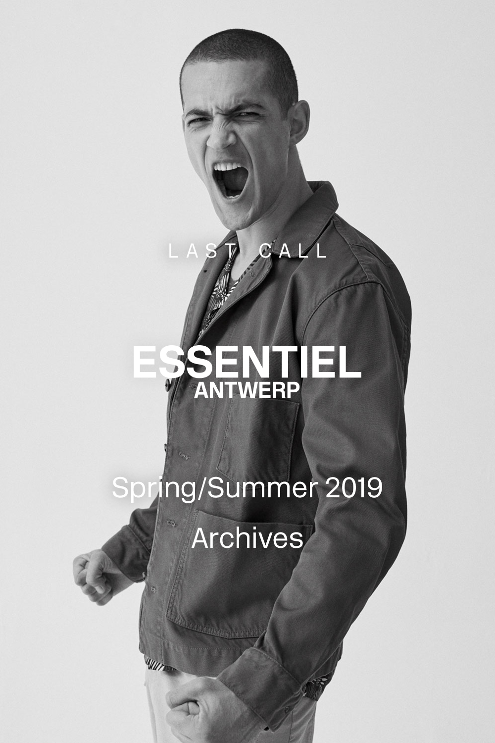 Hurry! This is your last chance to enjoy our SS19 archives at 60% off. Make this moment count and choose last season's treasures quickly before they're gone forever.
